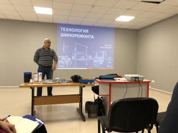 Обучающий семинар персонала с представителями завода SIVIK