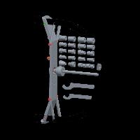 Адаптер для балансировки мотоциклетных колес КС-225