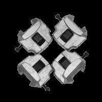 Комплект адаптеров для легкосплавных дисков грузовых автомобилей