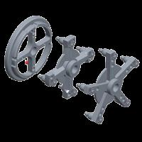 Набор адаптеров для колес грузовых автомобилей КС-223