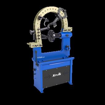 Стенд для правки автомобильных дисков Sivik Титан ALU Компакт (электропривод)